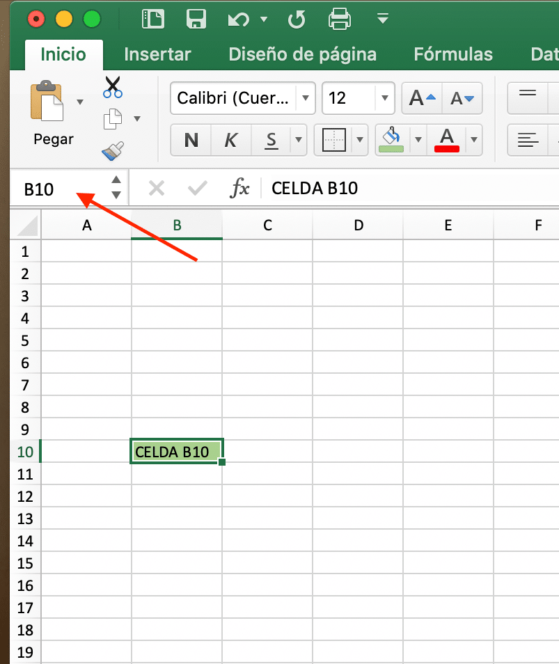 que es una celda en Excel